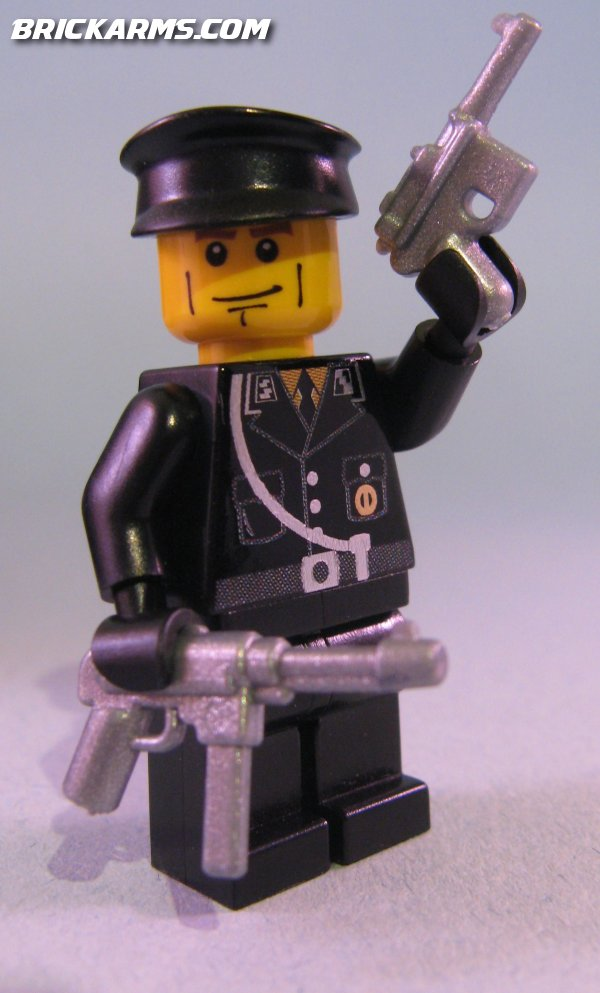 A Nazi SS Major LEGO