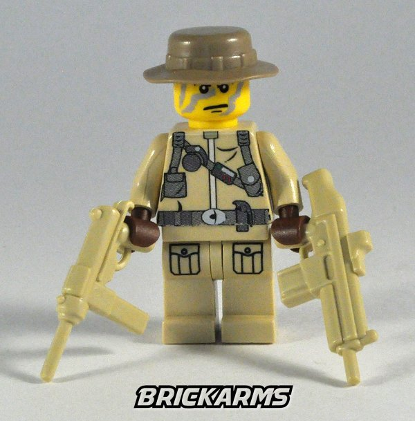 Brickarms boonie hat lego minifigure headgear
