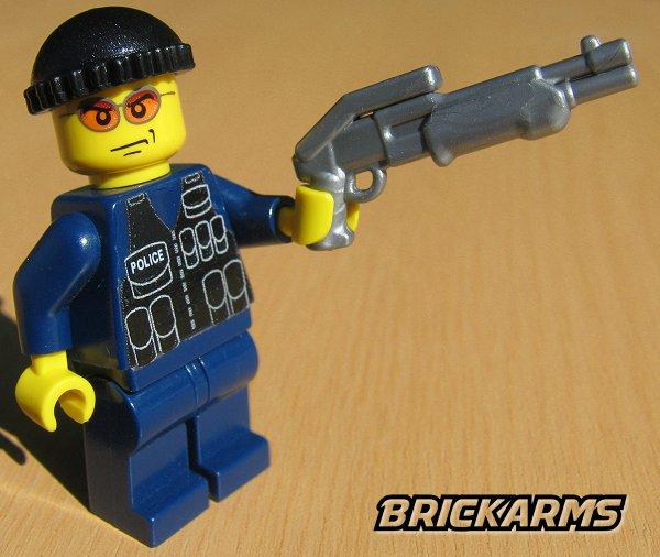 Brickarms Combat Shotgun Lego Minifigure Weapon