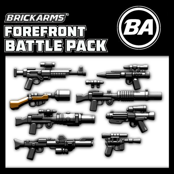 BrickArms World War II Allies Weapons Pack v2 for Brick Minifigures