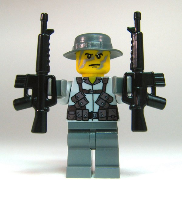 Toy Guns With Bullets BrickArms US M16...