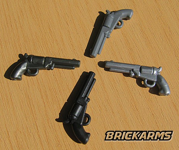 BrickArms M1851 Navy Revolver Civil War LEGO Minifigure Weapon