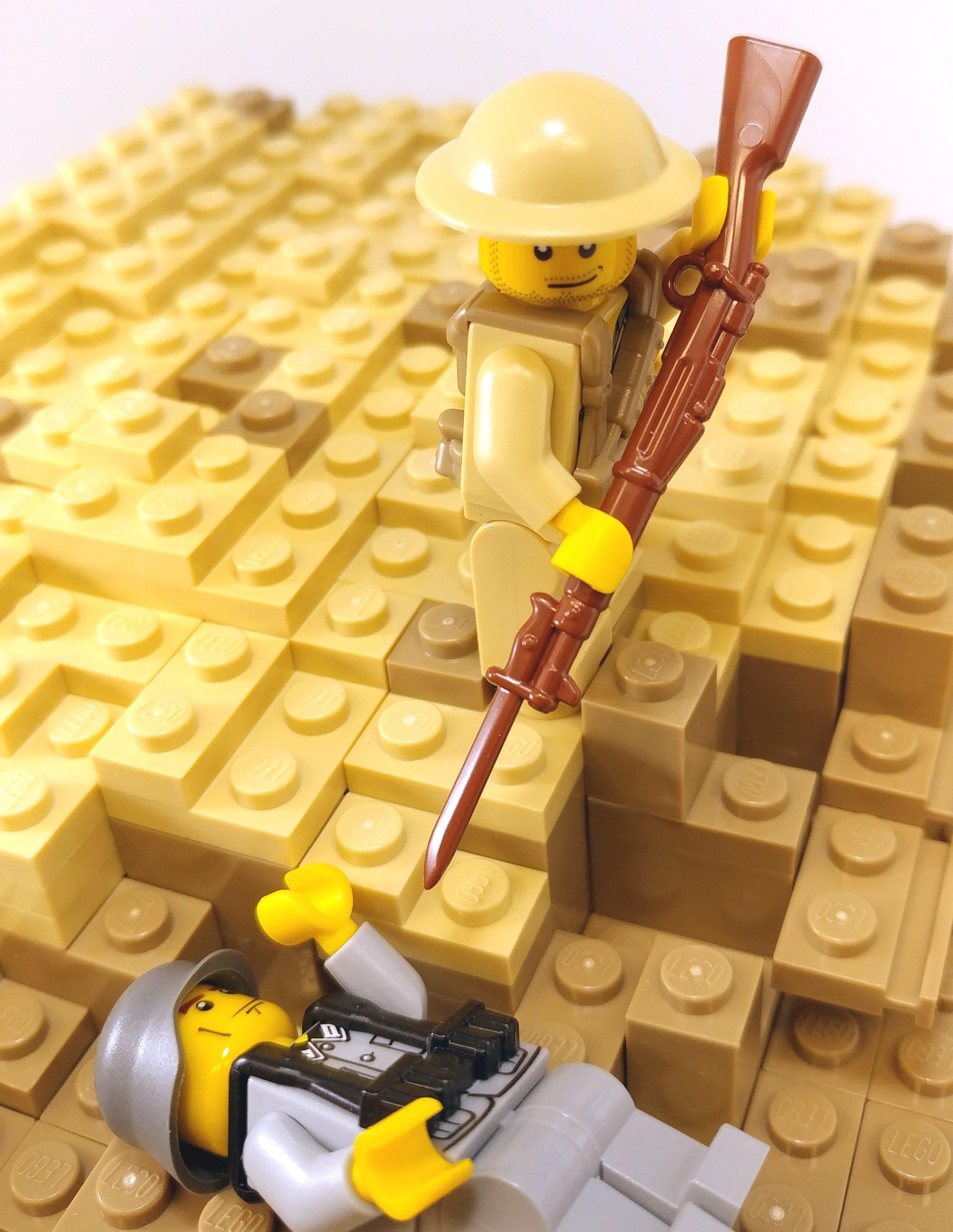 Brickarms Ww1 Us Ww1 M1903 Rifle W Bayonet Lego Minifigure