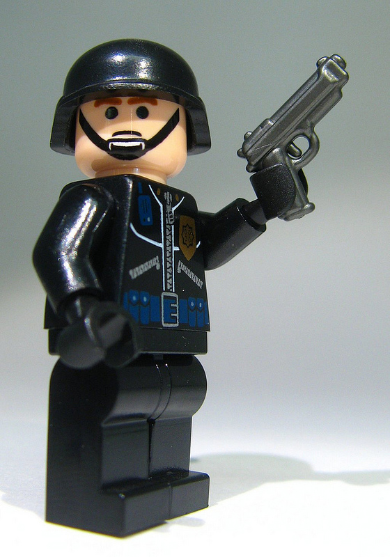 Brickarms m9 pistol lego minifigure weapon