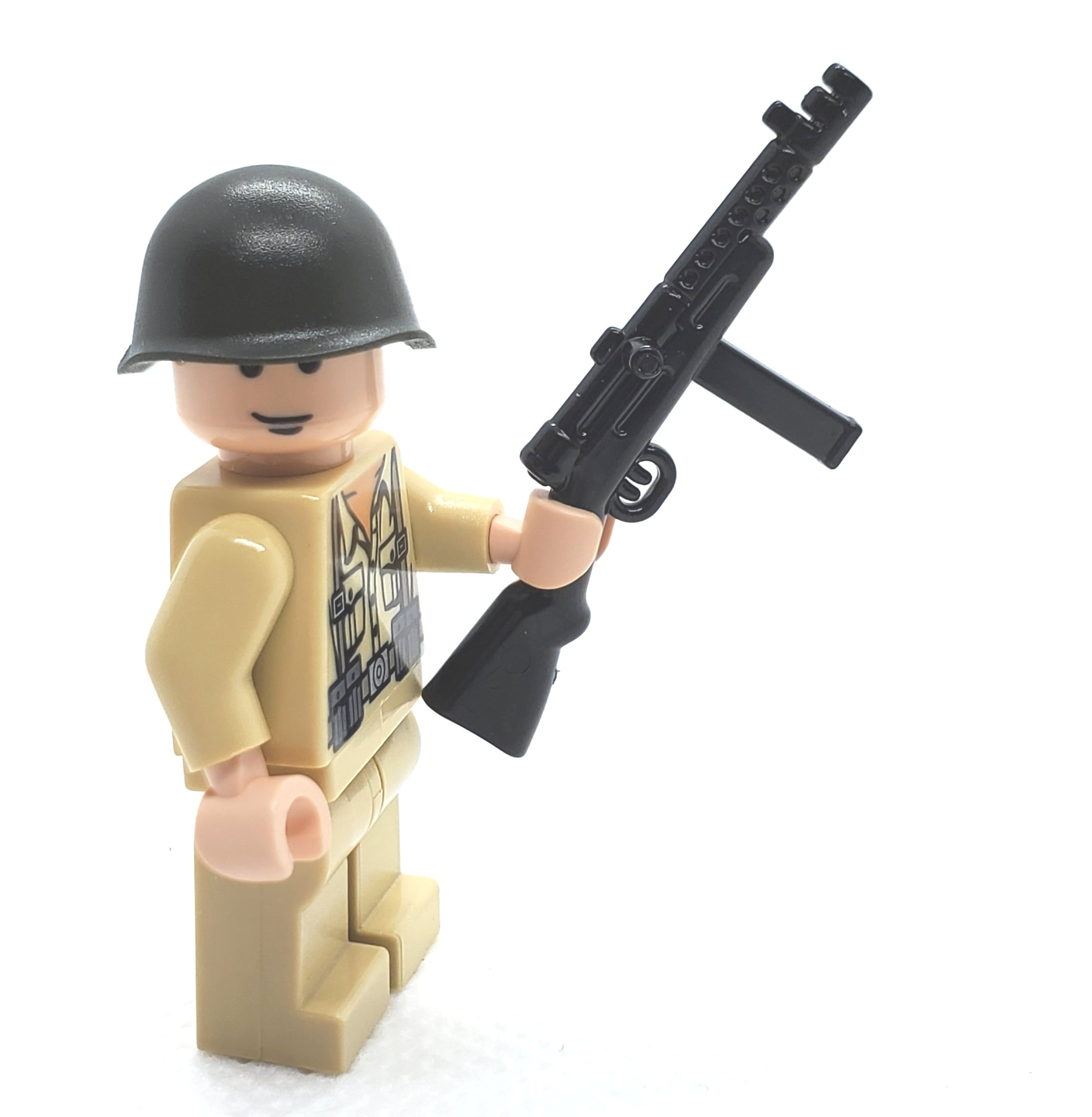Italian SMG Gun WWII for Lego Minifigures accessories