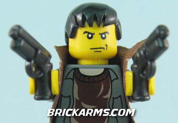 BrickArms M2019 Sci-Fi Pistol Blade Runner PKD2019 LEGO Minifigure ...