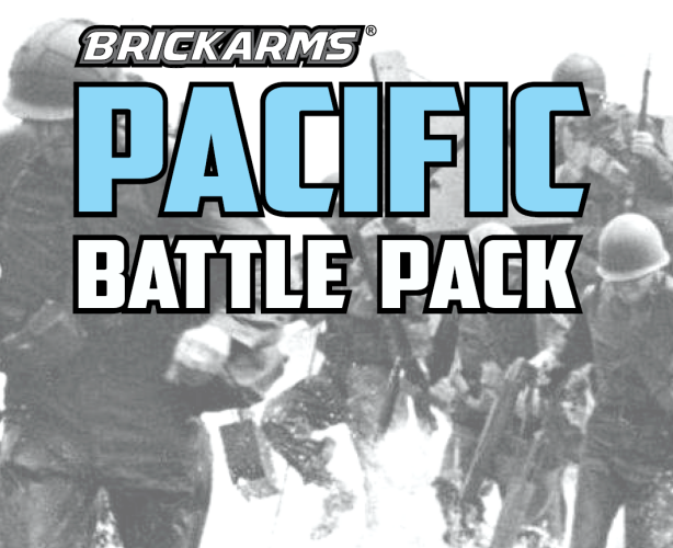 BrickArms WWII Pacific Pack Pack LEGO Minifigure Weapons Pack