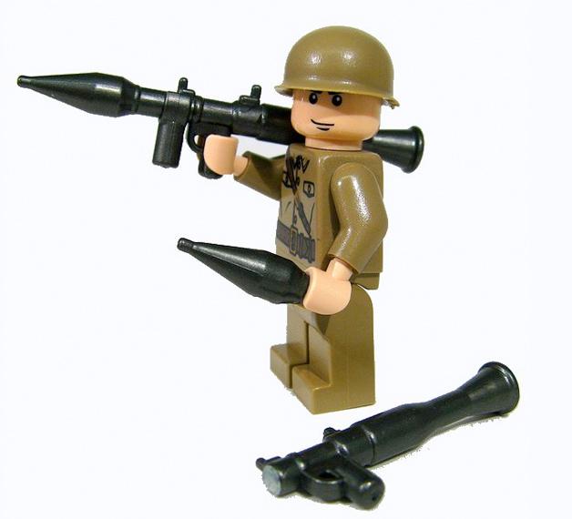 BrickArms RPG-7 Rocket Propelled Grenade LEGO Minifigure ...