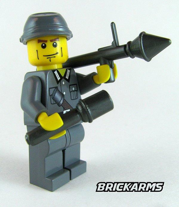 RPG Rocket Propelled Grenade LEGO Minifigure Weapon