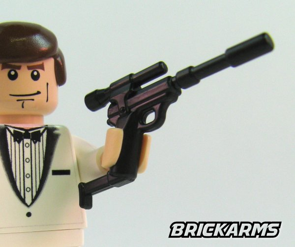The World S Best Photos Of Guns And Spy: BrickArms Spy Carbine UNCLE Megatron LEGO Minifigure Weapon