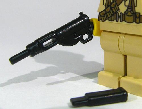 BrickArms Sten British WW2 LEGO Minifigure Weapon