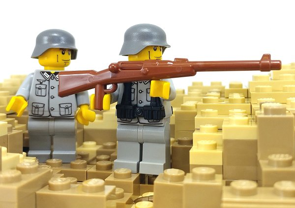 BrickArms WW1 Central Powers Minifigure Weapons Pack for LEGO