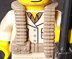 BrickArms LEGO Minifigure WW2 Allies US British WW2 Vest