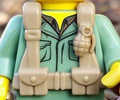 BrickArms LEGO Minifigure WW2 Allies US British WW2 Vest